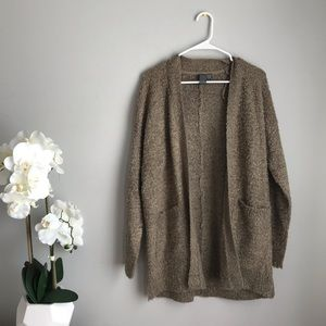 Taupe Popcorn Sweater from Boutique